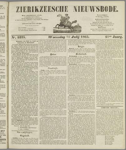 Zierikzeesche Nieuwsbode 1865-07-19