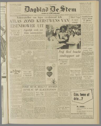 de Stem 1958-12-20