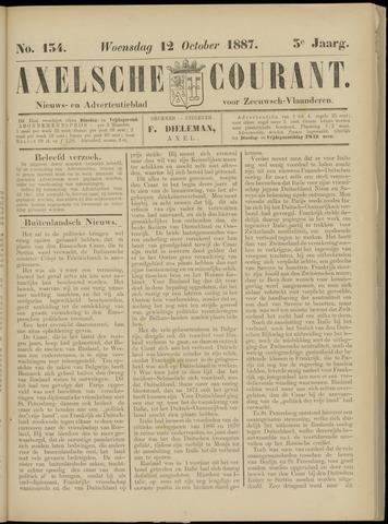 Axelsche Courant 1887-10-12