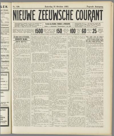 Nieuwe Zeeuwsche Courant 1913-10-11
