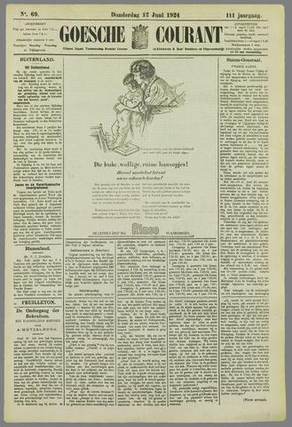 Goessche Courant 1924-06-12