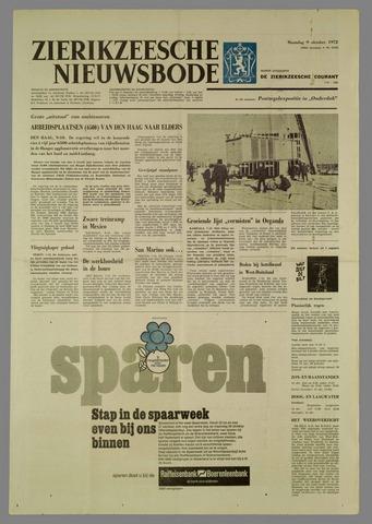 Zierikzeesche Nieuwsbode 1972-10-09