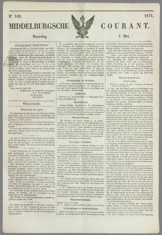 Middelburgsche Courant 1871-05-01