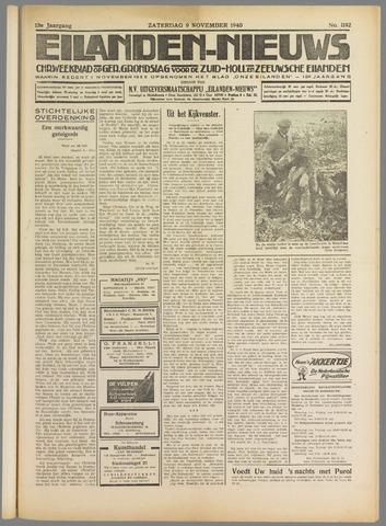 Eilanden-nieuws. Christelijk streekblad op gereformeerde grondslag 1940-11-09