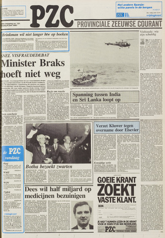 Provinciale Zeeuwse Courant 1987-06-05