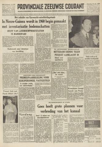 Provinciale Zeeuwse Courant 1959-10-24
