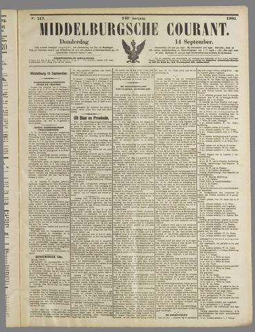 Middelburgsche Courant 1905-09-14