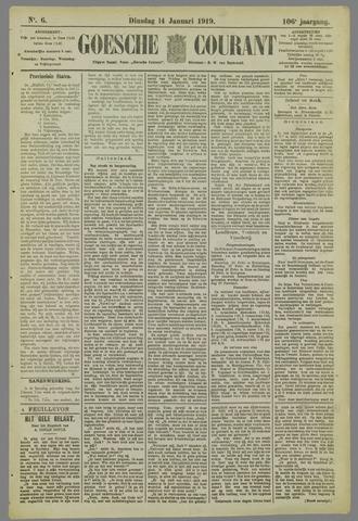 Goessche Courant 1919-01-14