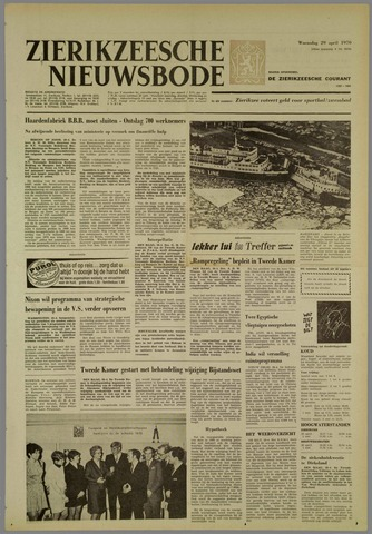 Zierikzeesche Nieuwsbode 1970-04-29