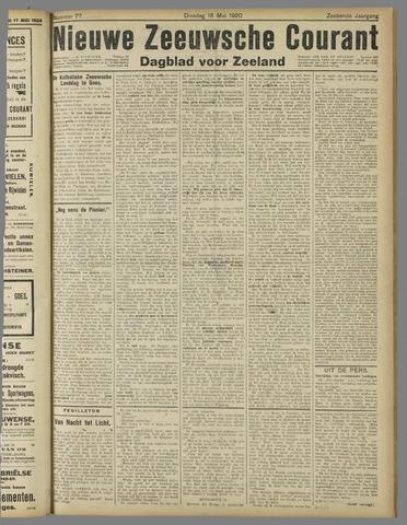 Nieuwe Zeeuwsche Courant 1920-05-18