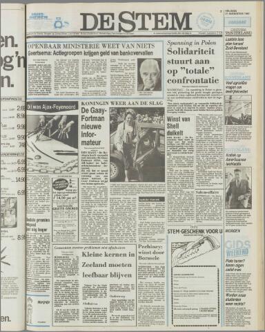 de Stem 1981-08-21