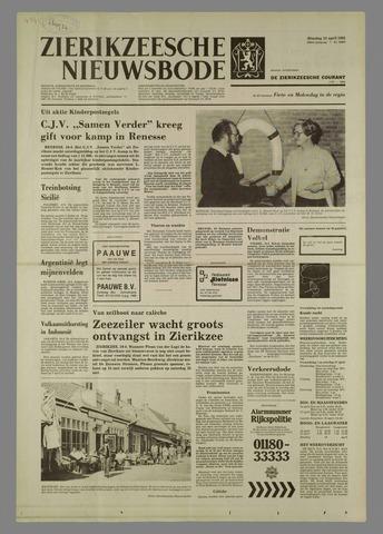 Zierikzeesche Nieuwsbode 1982-04-13