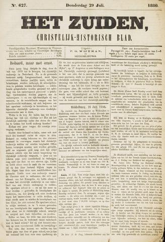 Het Zuiden, Christelijk-historisch blad 1880-07-29