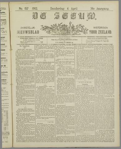 De Zeeuw. Christelijk-historisch nieuwsblad voor Zeeland 1912-04-04