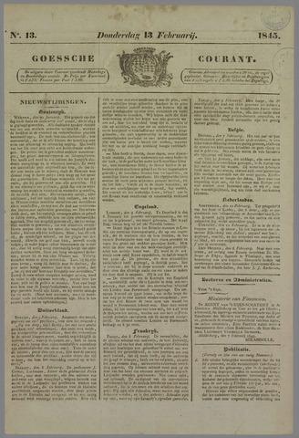 Goessche Courant 1845-02-13