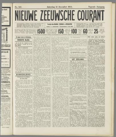 Nieuwe Zeeuwsche Courant 1913-12-13