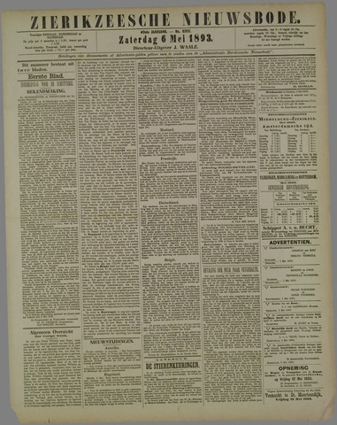 Zierikzeesche Nieuwsbode 1893-05-06