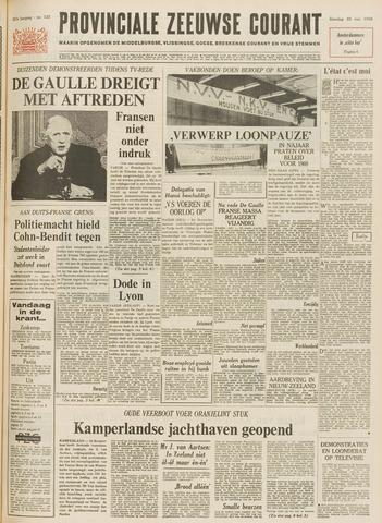 Provinciale Zeeuwse Courant 1968-05-25