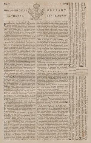 Middelburgsche Courant 1785-01-15
