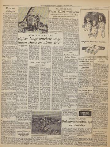 Watersnood documentatie 1953 - kranten 1953-12-05