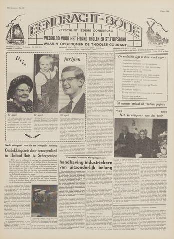 Eendrachtbode (1945-heden)/Mededeelingenblad voor het eiland Tholen (1944/45) 1969-04-24