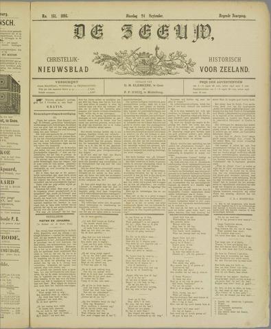 De Zeeuw. Christelijk-historisch nieuwsblad voor Zeeland 1895-09-24
