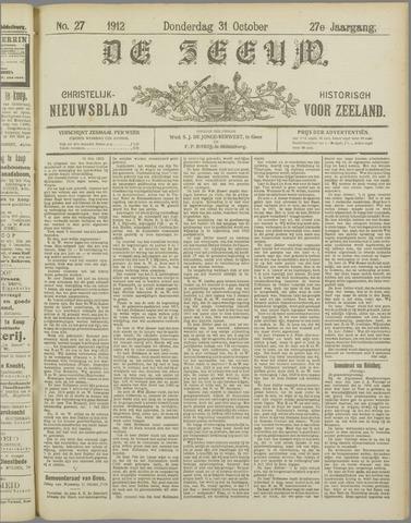 De Zeeuw. Christelijk-historisch nieuwsblad voor Zeeland 1912-10-31