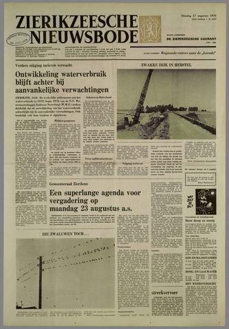 Zierikzeesche Nieuwsbode 1976-08-17