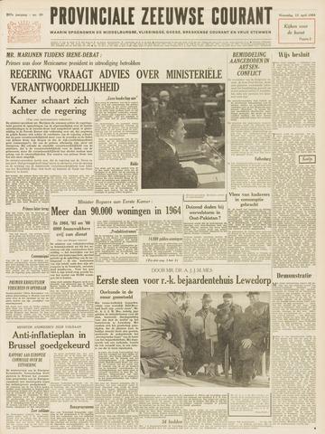 Provinciale Zeeuwse Courant 1964-04-15