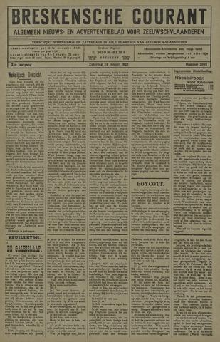 Breskensche Courant 1925-01-24