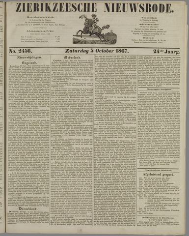 Zierikzeesche Nieuwsbode 1867-10-05