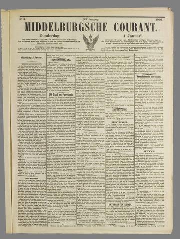 Middelburgsche Courant 1906-01-04