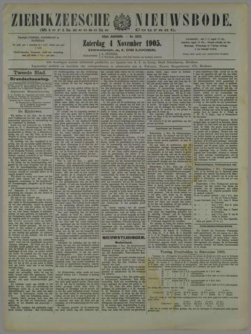 Zierikzeesche Nieuwsbode 1905-11-04