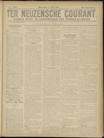 Ter Neuzensche Courant. Algemeen Nieuws- en Advertentieblad voor Zeeuwsch-Vlaanderen / Neuzensche Courant ... (idem) / (Algemeen) nieuws en advertentieblad voor Zeeuwsch-Vlaanderen 1928-07-02