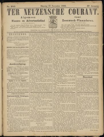 Ter Neuzensche Courant. Algemeen Nieuws- en Advertentieblad voor Zeeuwsch-Vlaanderen / Neuzensche Courant ... (idem) / (Algemeen) nieuws en advertentieblad voor Zeeuwsch-Vlaanderen 1899-11-21