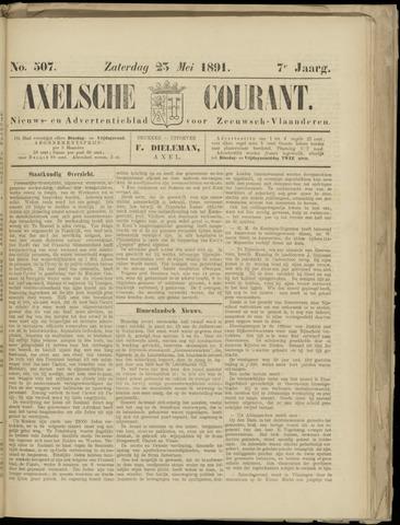 Axelsche Courant 1891-05-23