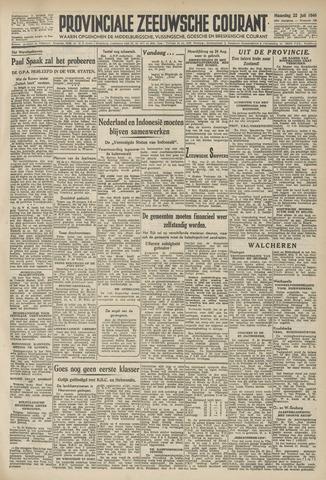 Provinciale Zeeuwse Courant 1946-07-22