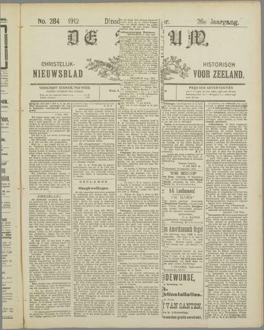 De Zeeuw. Christelijk-historisch nieuwsblad voor Zeeland 1912-09-03
