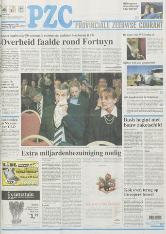 Provinciale Zeeuwse Courant 2002-12-18