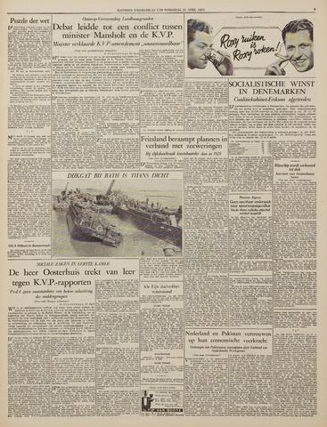 Watersnood documentatie 1953 - kranten 1953-04-22