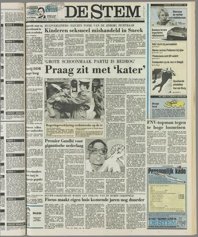 de Stem 1989-11-27