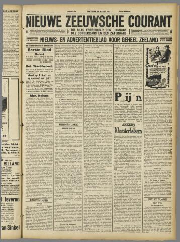 Nieuwe Zeeuwsche Courant 1927-03-26