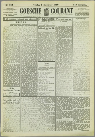 Goessche Courant 1930-11-07