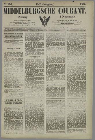 Middelburgsche Courant 1887-11-01