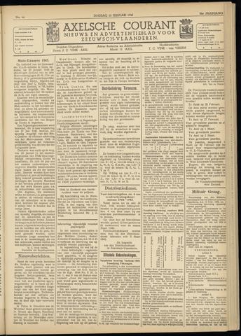 Axelsche Courant 1945-02-20