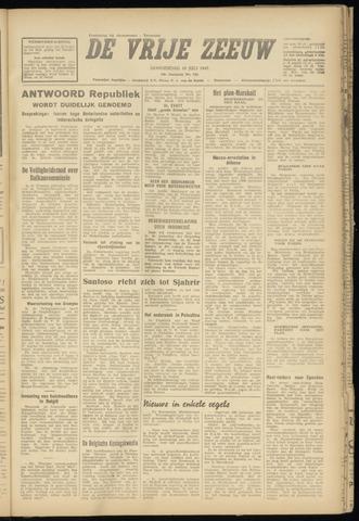 de Vrije Zeeuw 1947-07-10