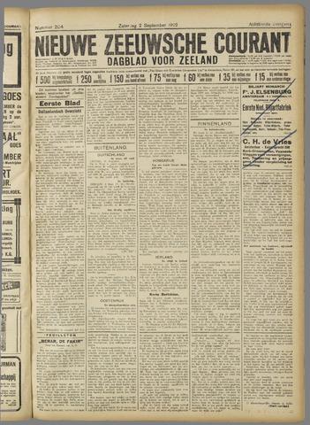 Nieuwe Zeeuwsche Courant 1922-09-02