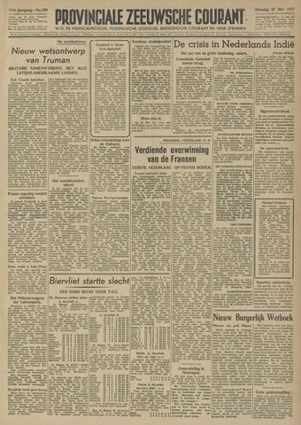 Provinciale Zeeuwse Courant 1947-05-27