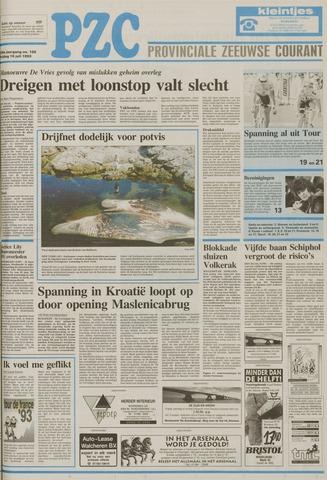 Provinciale Zeeuwse Courant 1993-07-16