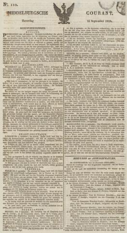 Middelburgsche Courant 1829-09-12